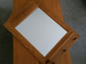 Hall Mirror - Oak