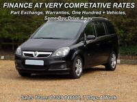 Vauxhall/Opel Zafira 2.0i 16v Turbo ( 200ps ) 2006MY SRi 7