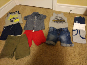Boys Summer outfits - size 3T