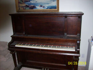 Antique upright piano - $100 Move from 2nd floor condo Langley