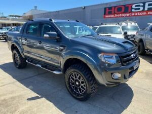 2015 Ford Ranger PX Wildtrak Double Cab Grey 6 Speed Sports Automatic Utility Granville Parramatta Area Preview