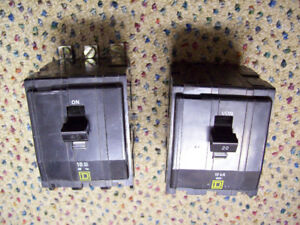 Siemens, Square D commercial panel circuit breakers