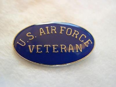 Air Force Veteran Lapel Hat Cap Pin Tie Tac USAF Retired FAST USA SHIPPING