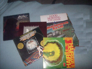 Rock and Roll LPs from the 70's and 80's