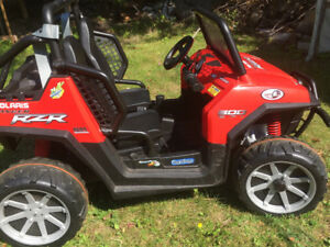 24 Volt Peg Perego Polaris RZR side by side