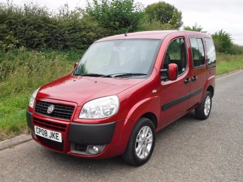 2008 fiat doblo dynamic multijet 1 3 diesel 5 door  red fiat doblo 1.3 multijet service manual pdf Fiat Panda