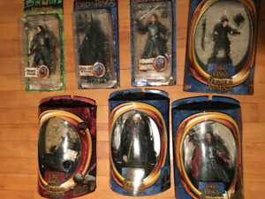 Lord of the Rings Figures-NEW Unopened.