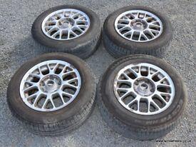 "BMW E36 E46 15"" TSW Alloy Wheels & Good Tyres 5x120 316i 318i 320i 323i 328i"