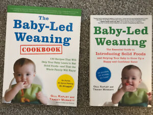 Baby led weaning book and cook book