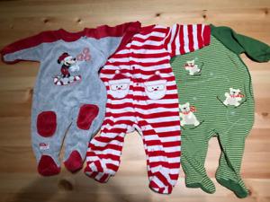 3 Christmas pyjamas