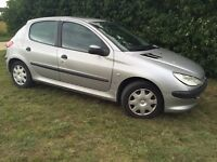 2002 PEUGEOT 206 - 1.0L - LONG MOT - RELIABLE - CHEAP MOTORING - READ AD
