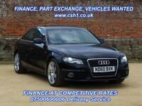 2010 60 AUDI A4 2.0 TFSI S LINE SPECIAL EDITION 4D 208 BHP