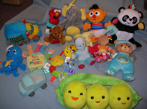 Disney Characters Plush Baby Toddler Toys Lot of 17
