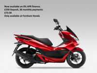 Honda PCX125 - 0% Finance Available, immediate delivery