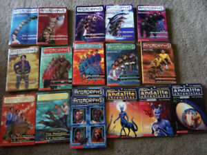 Animorphs and Andalite Chronicles. Children's Books. $2.00 each.