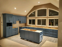 Assembly and installation kitchen cabinets