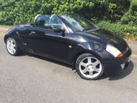 CONVERTIBLE FORD KA CONVERTIBLE - LONG MOT - LEATHER