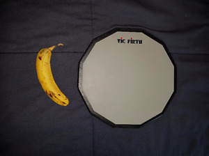 Vic Firth 12 inch single side practice pad