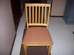 Solid Pine Chairs (2)