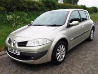 2006 RENAULT MEGANE DYNAMIQUE 1.5 DCi DIESEL 5 DOOR, Gold, Manual