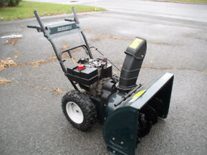souffleuse MTD / YARD MACHINES 10/28 snow blower 358cc