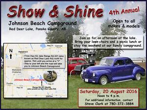 4th Annual Show & Shine - Johnson Beach Campground