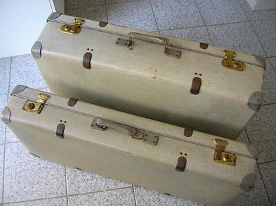 VW BUG VINTAGE ACCESSORY CAR SUITCASE LUGGAGE AUTOKOFFER VOLKSWAGEN COX BEETLE