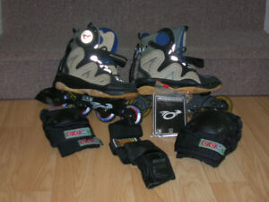 Patin a roue alignées marque Rossignol (STEP-IN-SKATE)