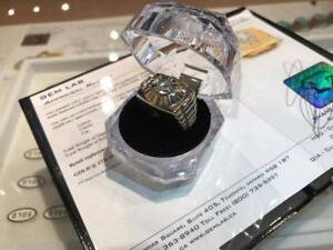Heavy Mens Custom Made Rolex Diamond Ring Appraised over $10,000