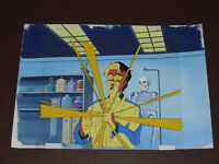 GHOSTBUSTERS CARTOON CEL WITH BACKGROUND YOUR LOT OF 4