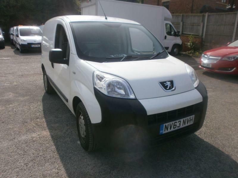 Peugeot Bipper 1.3 Hdi 75 S [Non Start/Stop] Plus pack DIESEL MANUAL (2014)
