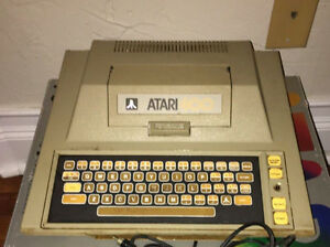 Atari 400 Computer Console and games and more