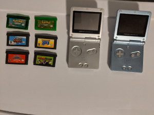 Gameboy Advance SP AGS 001 AGS 101 Excellent Games