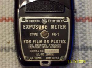 Vintage General Electric Exposure Meter and Koniflash III Flash Stratford Kitchener Area image 3