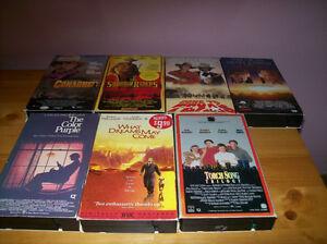 7 vhs movies