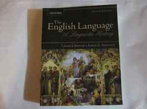 """""""The English Language, a Linguistic History"""" Oxford"""