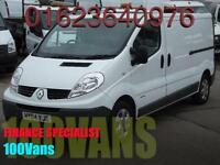 RENAULT TRAFIC 2.0DCI 115PS 2900 LWB 1 OWNER F/S/H SAME DAY FINANCE