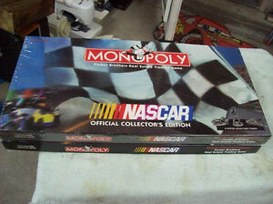 B.N.I.B. COLLECTORS EDITION NASCAR MONOPOLY
