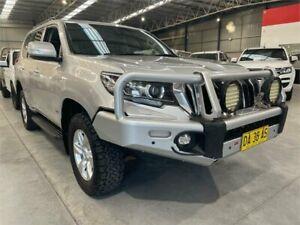 2018 Toyota Landcruiser Prado GDJ150R GXL Silver 6 Speed Sports Automatic Wagon Boolaroo Lake Macquarie Area Preview