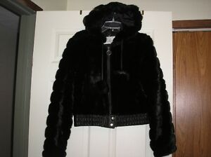 Girls Shortie fun fur Jacket London Ontario image 1