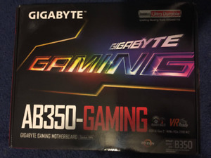 Gigabyte GA-AB350-Gaming B350 AM4 ATX Mainboard
