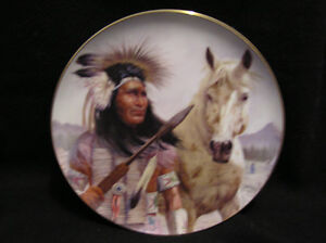 5 Chieftains II collector plates