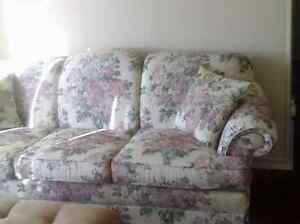 Sklar-Peppler Sofa & Matching Chair London Ontario image 1
