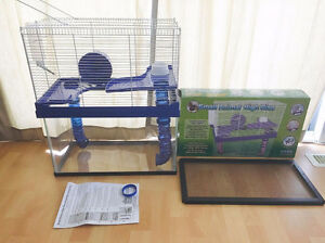 SMALL ANIMAL CAGE FOR MICE, GERBILS AND SMALL HAMSTERS