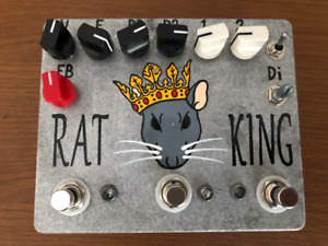 Fuzzrocious Rat King pedal - Fuzz/Distortion