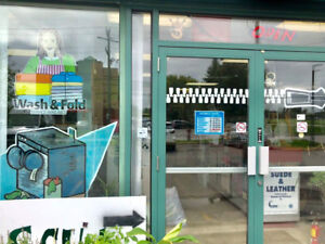 Laundromat, Dry Clean and Alteration Business for Sale