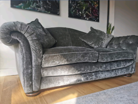 LARGE DFS sofa and Armchair