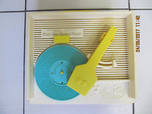 Vintage Fisher Price Music Box Record Player Model 995 Circa1971