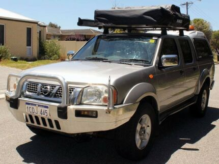 2006 Nissan Navara D22 Diesel 370XXXKms (Equipped for camping)