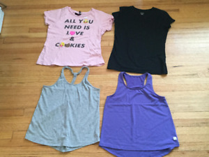 Girls Summer Tops   Sizes 10-12   -   Moving Must Go